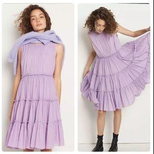 NWT Anthropologie Lola tiered dress